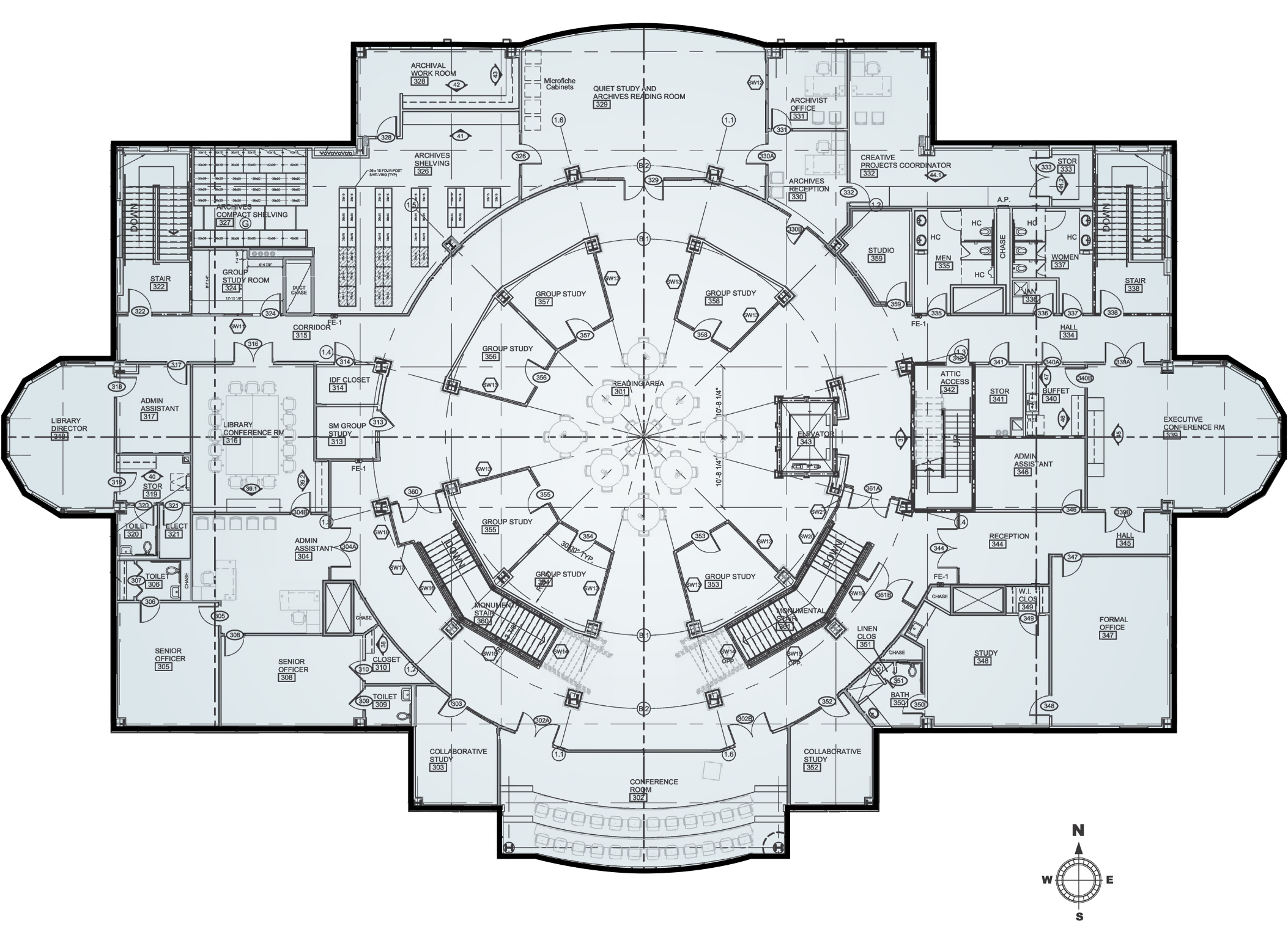 Floor Plans Open The Doors Completing Union 39 S New Library For A New Generation